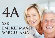 4A SSK Emekli Maaşı Sorgulama