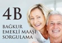 4B Bağkur Emekli Maaş Sorgulama