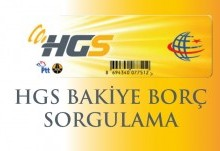 HGS Bakiye Borç Sorgulama