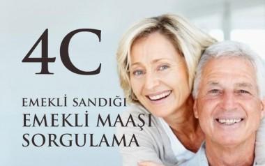 4C Emekli Sandığı Emekli Maaşı Sorgulama